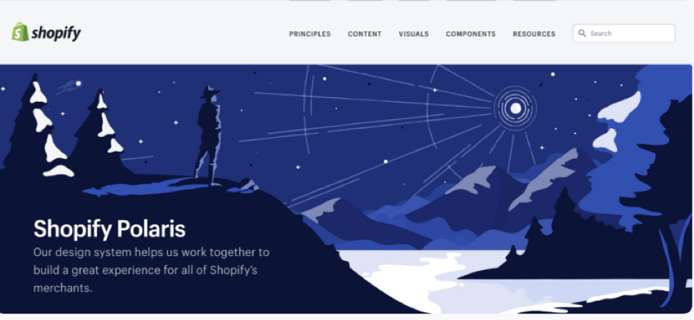 shopify polaris animation design