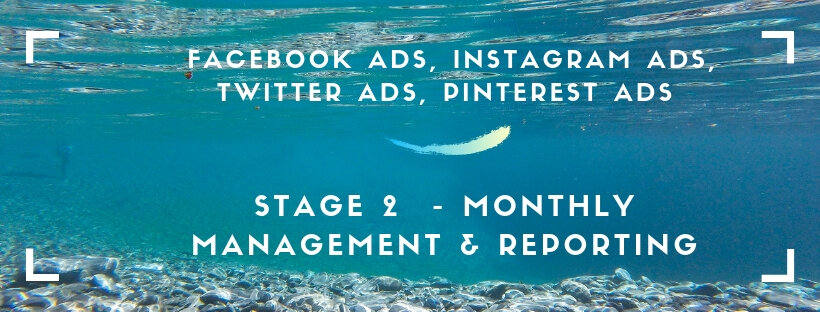 facebook and instagram ads advertising monthly service process