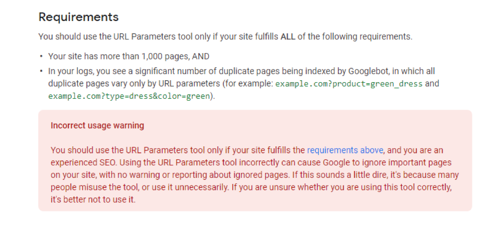 URL Parameters Google Rater Guidelines revealed