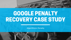 Successfully Helped Client Gain Back and Increase Organic Traffic from An Algorithmic Penalty
